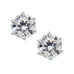 3/$15 🖤 Origami Owl 🤍 Diamond CZ Crystal Studs